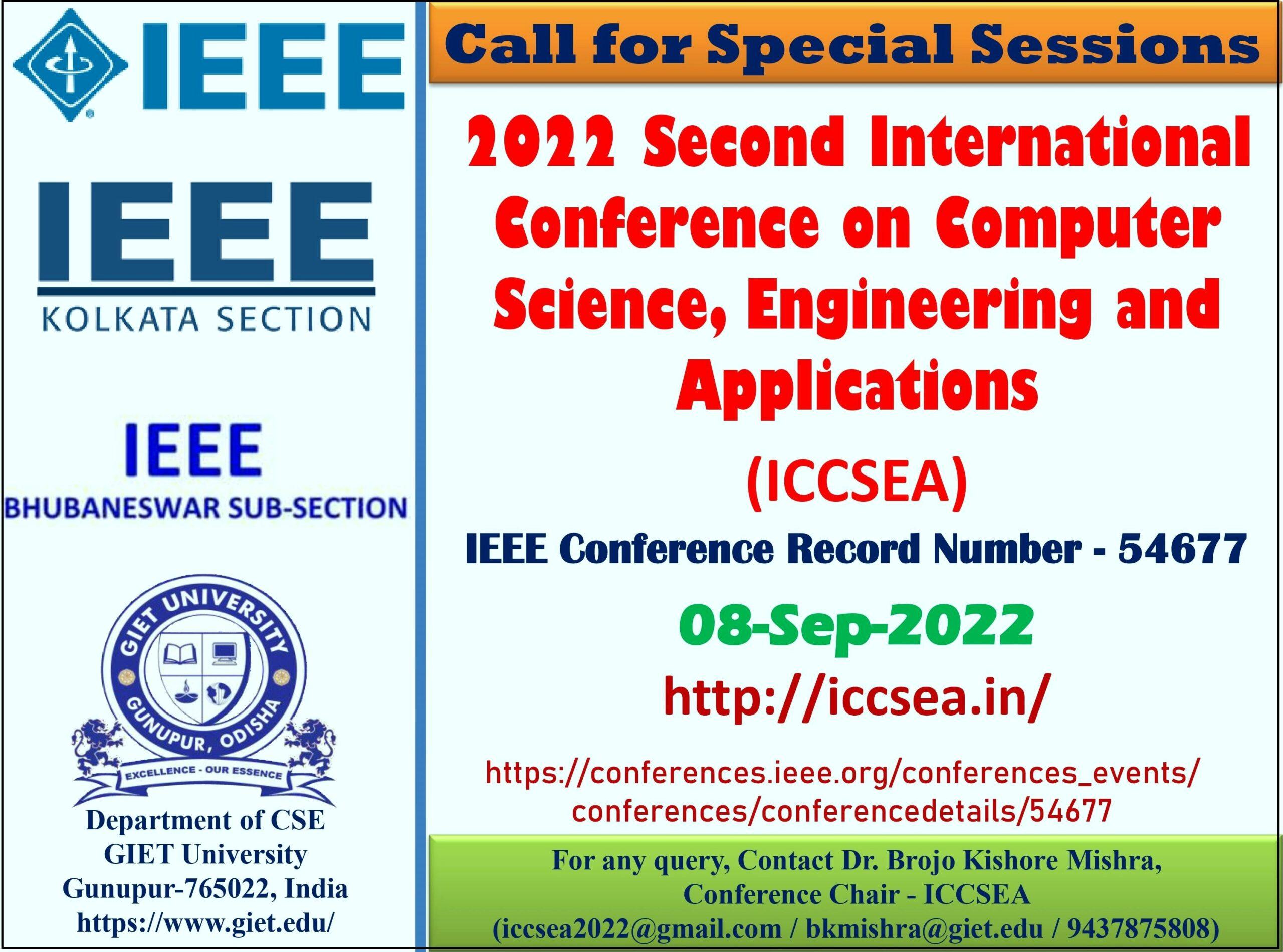 IEEE ICCSEA 2022 SS